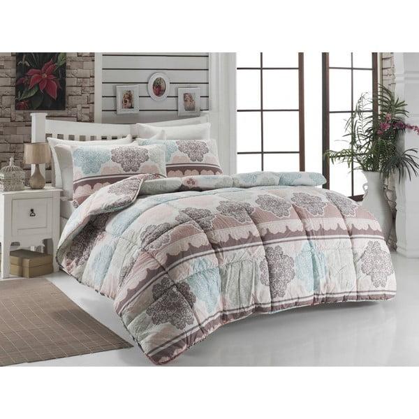 Cuvertură matlasată pentru pat matrimonial Karlin, 195 x 215 cm