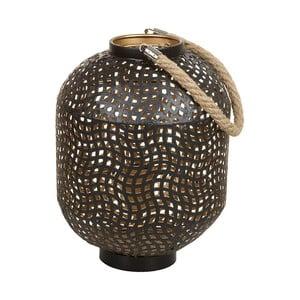 Železná stojací lampa SantiagoPons Ball, výška 30cm