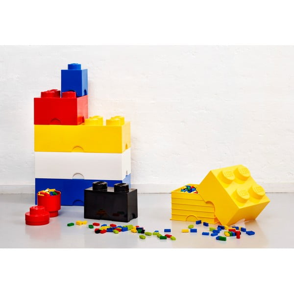 Černý úložný dvojboxík LEGO®