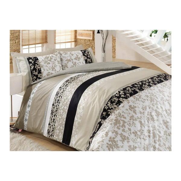Lenjerie de pat cu cearșaf Deborah, 160 x 220 cm