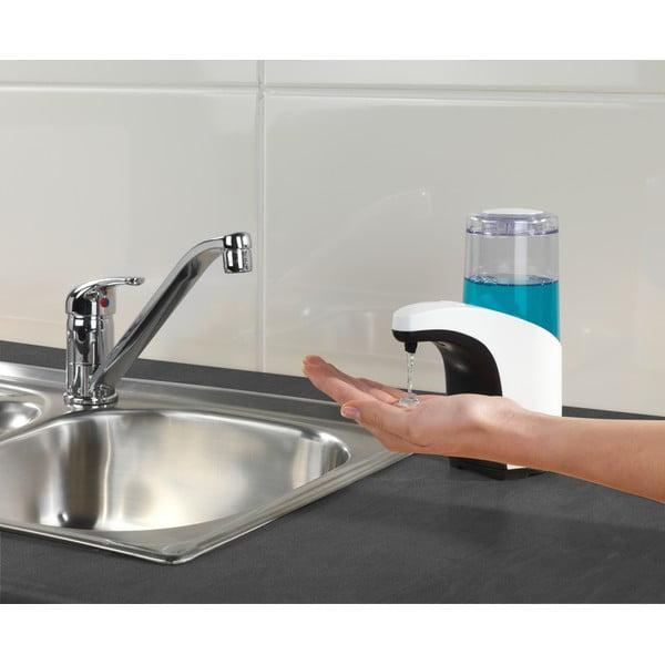 Bílý zásobník na mýdlo se senzorem Wenko