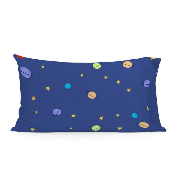 Modrý bavlněný povlak na polštář Mr. Fox Little Prince, 50 x 75 cm