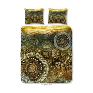 Povlečení na dvoulůžko z bavlněného saténu Muller Textiels Jose, 200 x 200 cm
