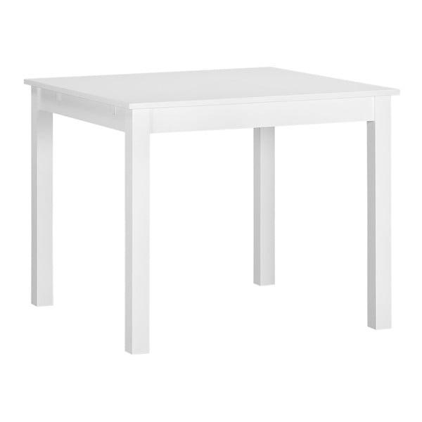 Bílý dřevěný rozkládací jídelní stůl Artemob Haily