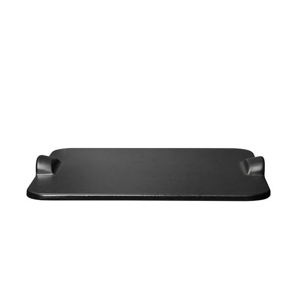 Tác na pizzu Emile Henry 30x34 cm, černý