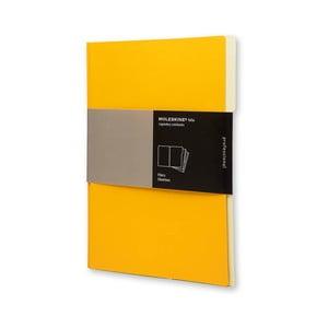 Sada 3 ks složek Moleskine, oranžová