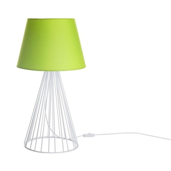 Stolní lampa Wiry Lime/White
