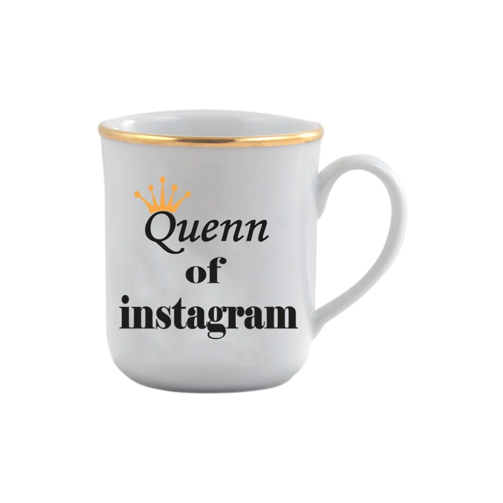 Porcelánový hrneček Vivas Queen, 330ml
