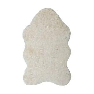 Krémový kožešinkový koberec Floorist Soft Bear, 90x140cm