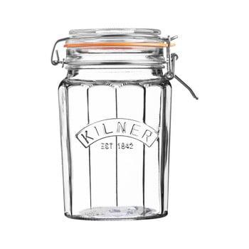 Borcan din sticlă cu clips Kilner, 0,95 L imagine