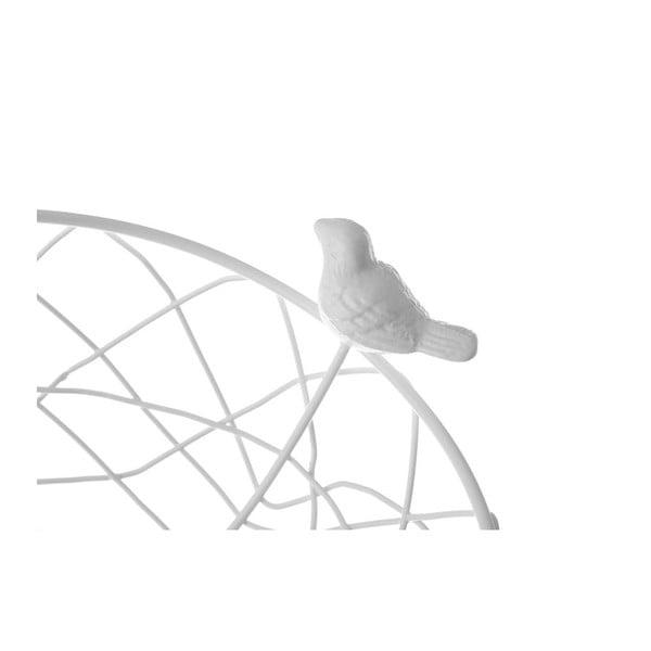 Bílý kovový košík na ovoce Unimasa Nature