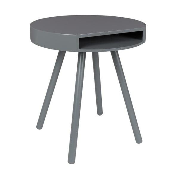 Hide & Seek szürke tárolóasztal - Zuiver