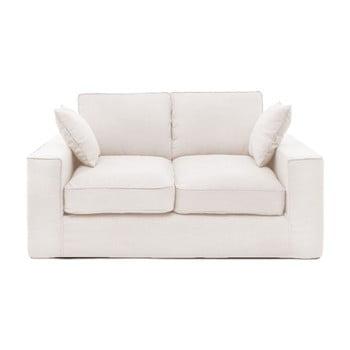 Canapea cu 2 locuri Vivonia Jane, crem de la Vivonita