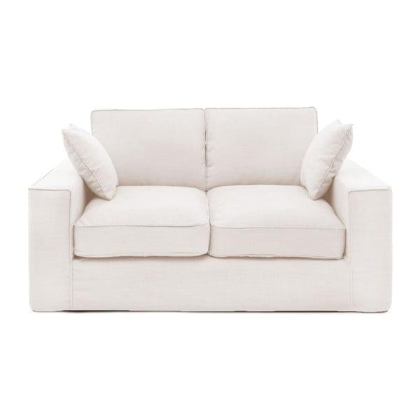 Kremowa sofa dwuosobowa Vivonita Jane