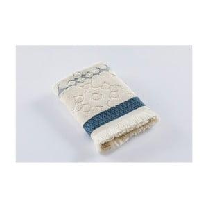 Krémový bavlněný ručník Bella Maison Azur,50x90cm