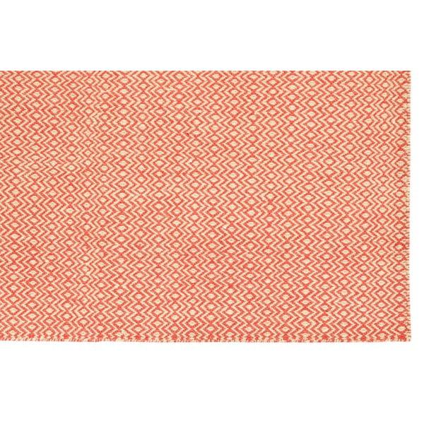 Ručně tkaný koberec Orange Zigzag Kilim, 160x230 cm