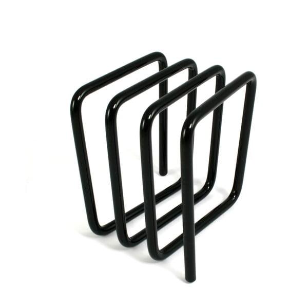 Černý stojan na dopisy Letter Rack