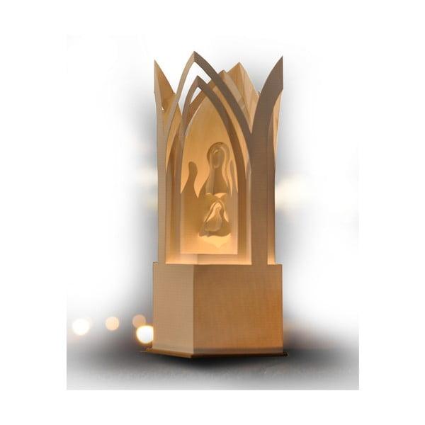 Svietnik MooDoo Design Betlehem Praha, výška 31 cm