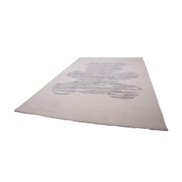 Dětský krémový koberec Nattiot Teddy, 120x170cm