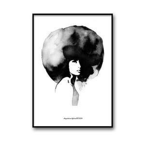Autorský plakát Woman, 30x40 cm