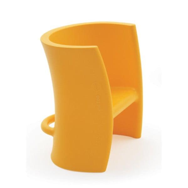 Žlutá víceúčelová židle Magis Trioli