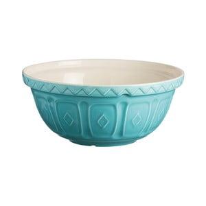 Tyrkysově modrá kameninová mísa Mason Cash Mixing, ⌀ 24 cm