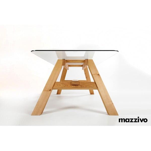 Jídelní stůl Mazzivo Glass To, 200x100cm