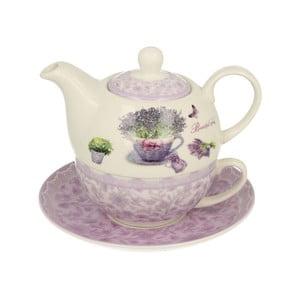 Porcelánový set na čaj pro jednoho Duo Gift Passion