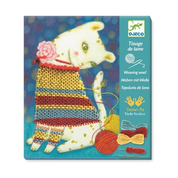 Vyšívacie obrázky Djeco Mačička