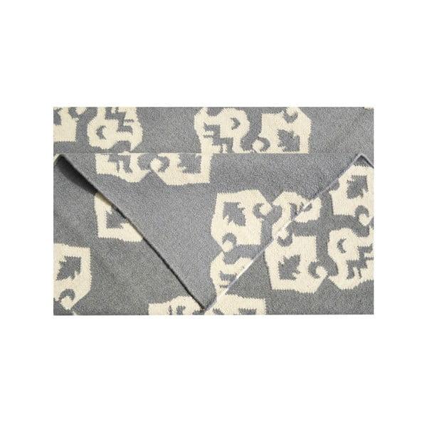 Vlněný koberec Leona Flowers, 150x245 cm
