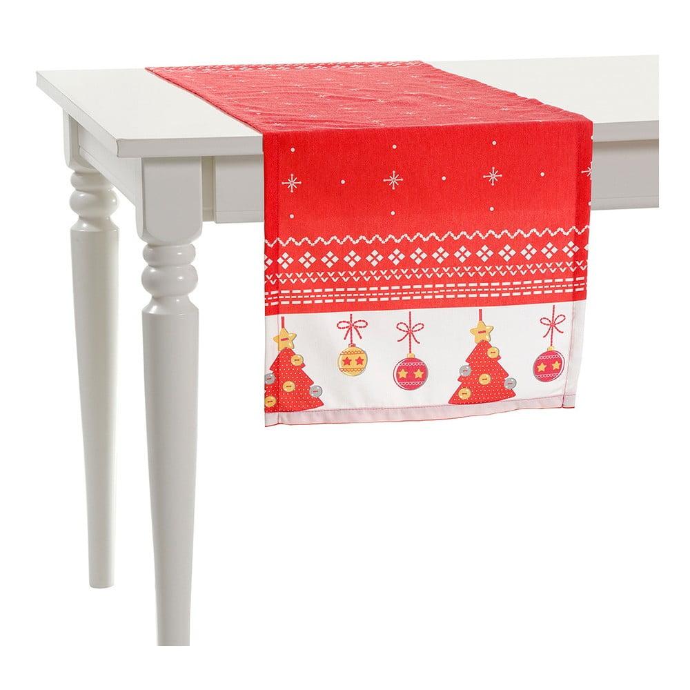 Vánoční běhoun na stůl Apolena, 140x40cm