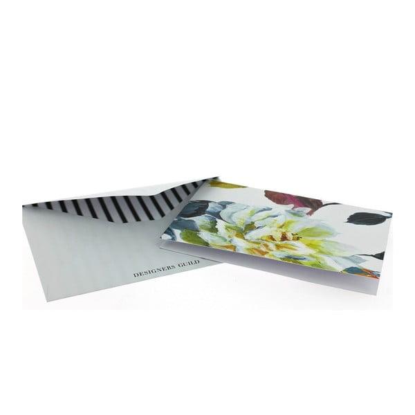 Komplet 8 kartek okolicznościowych z kopertami Blueprint Collections Couture Rose