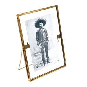 Zlatý rámeček na fotografii Rex London Brass, 18x13cm