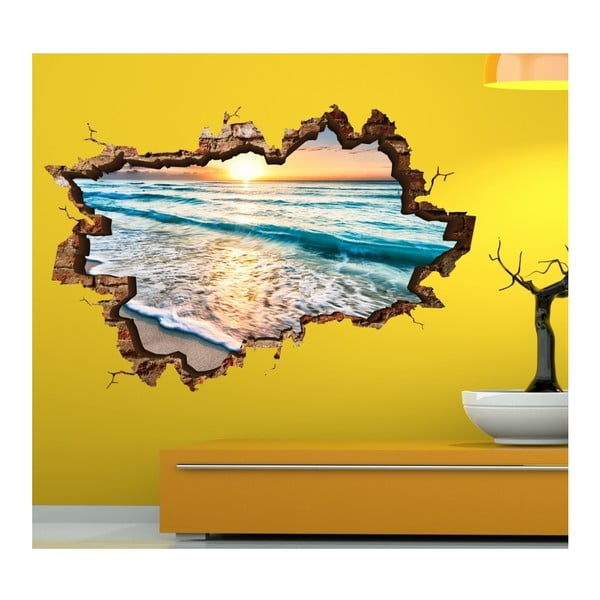Nástěnná samolepka 3D Art Lien, 70x45cm