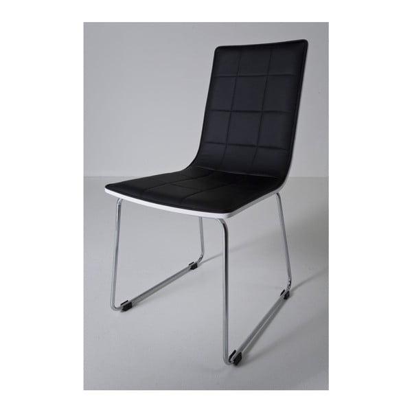 Sada 4 černých jídelních židlí Kare Design High Fidelity