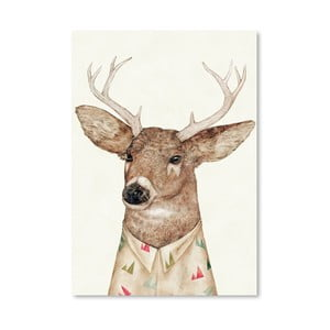 Plakát White-tailed Deer, 30x42 cm