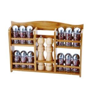 Set 12 recipiente condimente cu râșniță pentru sare și piper Bergner