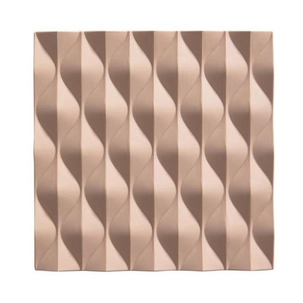 Origami Wave bézs szilikon edényalátét - Zone