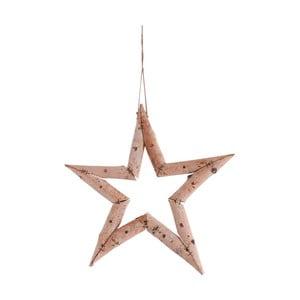 Závěsná dekorace ve tvaru hvězdy Naeve, Ø 35 cm