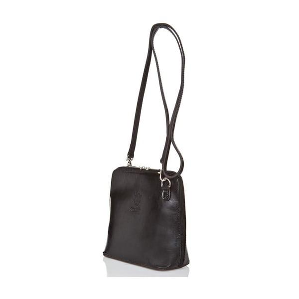 Černá kožená kabelka Grey Labelz Giorgio Costa Jacintha