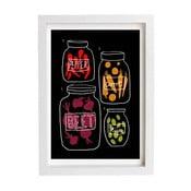 Plakát Science of pickles