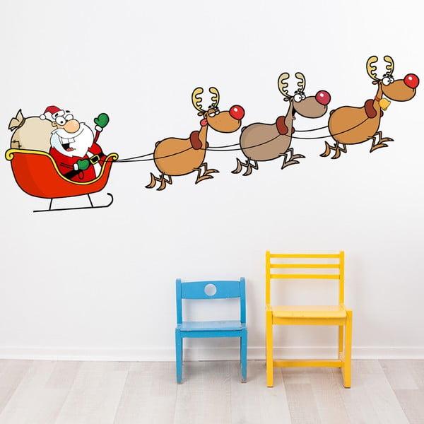 Autocolante Crăciun Ambiance Joyeux Et Ses Rennes