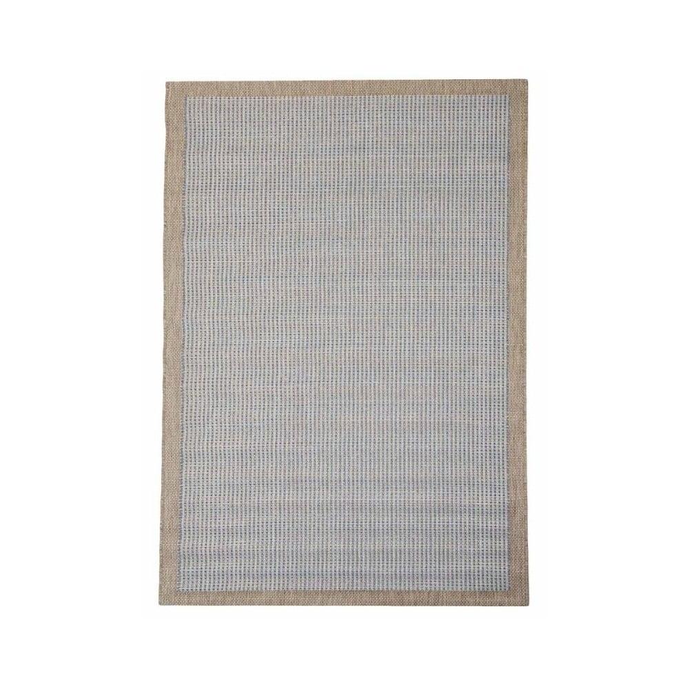 Modrý vysoce odolný koberec Webtappeti Chrome, 135 x 190 cm