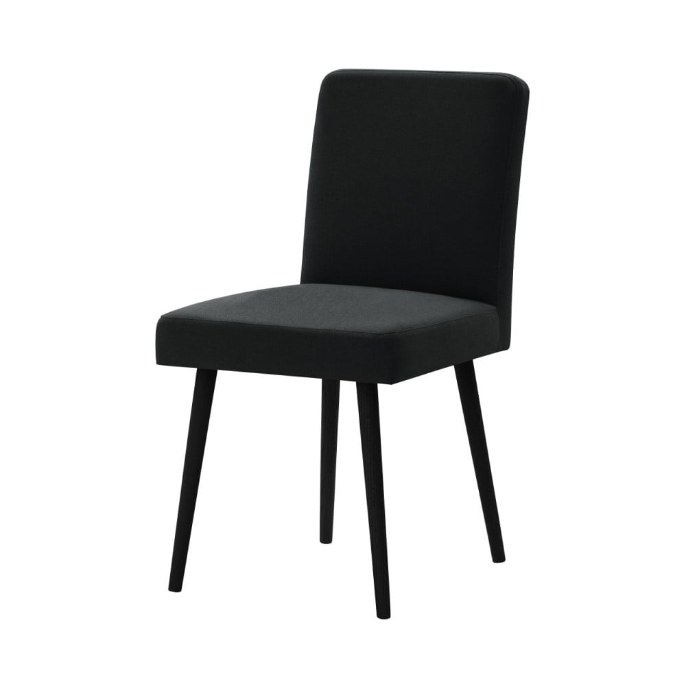 Černá židle s černými nohami Ted Lapidus Maison Fragrance