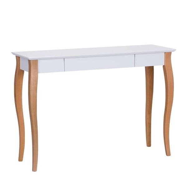 Lillo fehér íróasztal, hosszúság 105 cm - Ragaba
