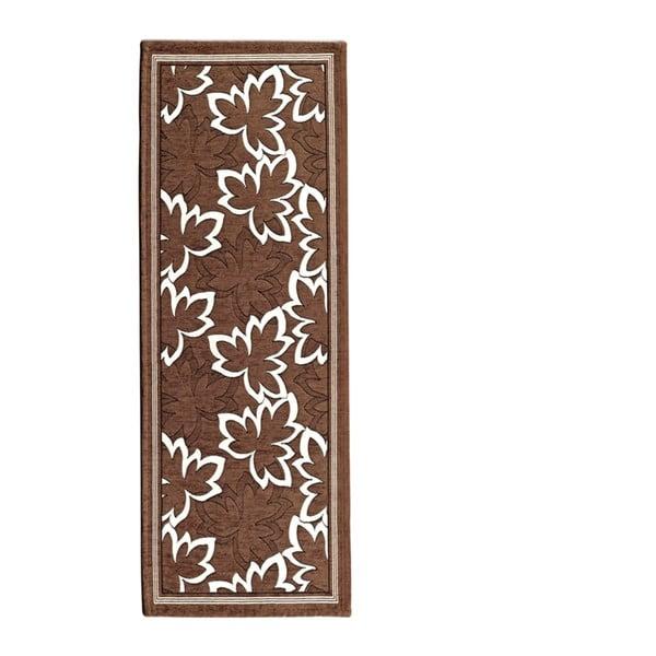 Hnědý běhoun Floorita Maple, 55 x 280 cm