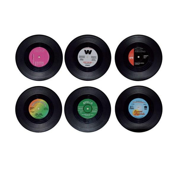Sada 6 podtácků Vinyl