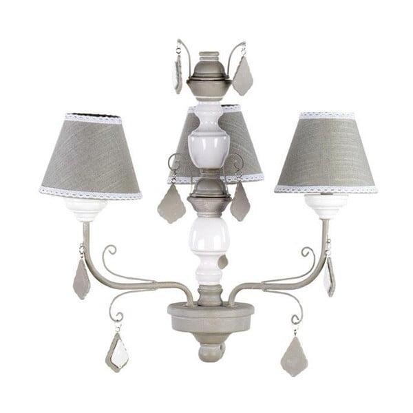 Elegantní stropní světlo In Brown and White