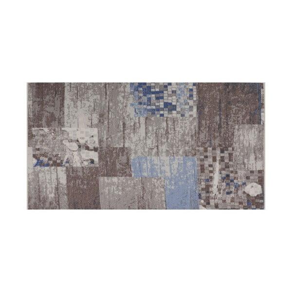 Niebieski dywan Muriel Sento, 80x150 cm