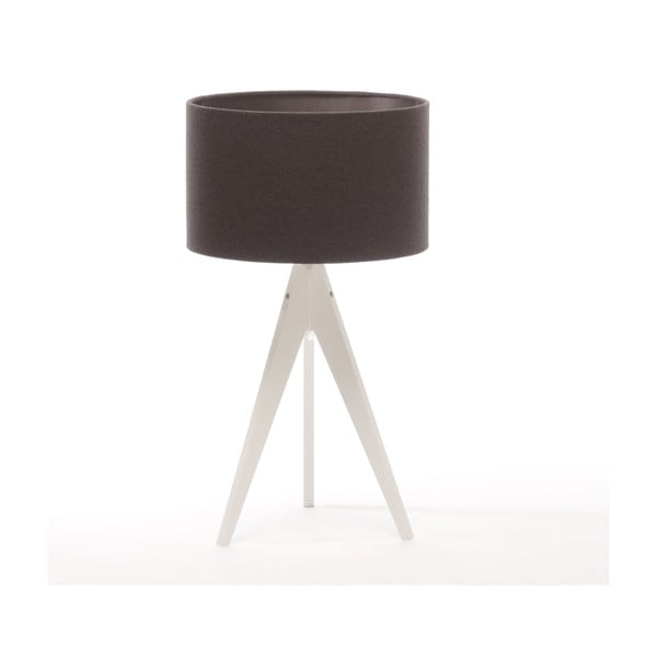 Stolní lampa Arist Dark Grey/White